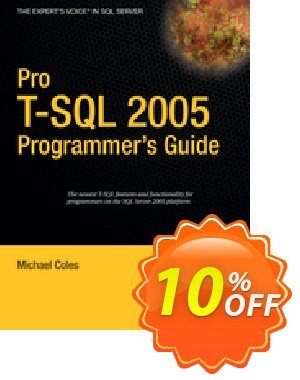 Pro T-SQL 2005 Programmer's Guide (Coles) discount coupon Pro T-SQL 2005 Programmer's Guide (Coles) Deal - Pro T-SQL 2005 Programmer's Guide (Coles) Exclusive Easter Sale offer for iVoicesoft