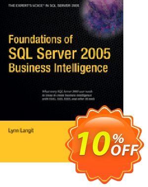 Foundations of SQL Server 2005 Business Intelligence (Langit) 優惠券,折扣碼 Foundations of SQL Server 2005 Business Intelligence (Langit) Deal,促銷代碼: Foundations of SQL Server 2005 Business Intelligence (Langit) Exclusive Easter Sale offer for iVoicesoft
