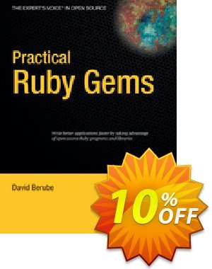Practical Ruby Gems (Berube) discount coupon Practical Ruby Gems (Berube) Deal - Practical Ruby Gems (Berube) Exclusive Easter Sale offer for iVoicesoft