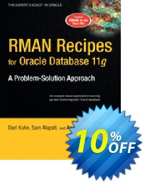RMAN Recipes for Oracle Database 11g (Alapati) discount coupon RMAN Recipes for Oracle Database 11g (Alapati) Deal - RMAN Recipes for Oracle Database 11g (Alapati) Exclusive Easter Sale offer for iVoicesoft