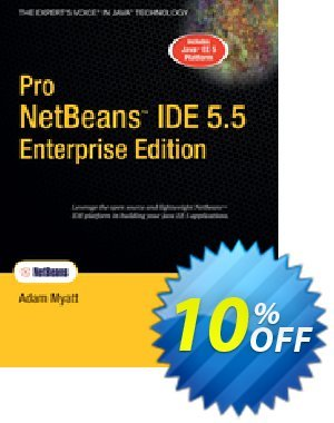 Pro NetBeans IDE 5.5 Enterprise Edition (Myatt) 프로모션 코드 Pro NetBeans IDE 5.5 Enterprise Edition (Myatt) Deal 프로모션: Pro NetBeans IDE 5.5 Enterprise Edition (Myatt) Exclusive Easter Sale offer for iVoicesoft