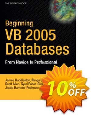 Beginning VB 2005 Databases (Hammer Pedersen) discount coupon Beginning VB 2005 Databases (Hammer Pedersen) Deal - Beginning VB 2005 Databases (Hammer Pedersen) Exclusive Easter Sale offer for iVoicesoft