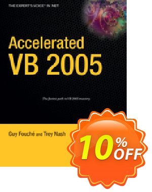Accelerated VB 2005 (Nash) 프로모션 코드 Accelerated VB 2005 (Nash) Deal 프로모션: Accelerated VB 2005 (Nash) Exclusive Easter Sale offer for iVoicesoft