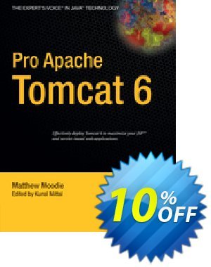 Pro Apache Tomcat 6 (Moodie) discount coupon Pro Apache Tomcat 6 (Moodie) Deal - Pro Apache Tomcat 6 (Moodie) Exclusive Easter Sale offer for iVoicesoft