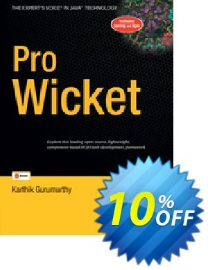 Pro Wicket (Gurumurthy) discount coupon Pro Wicket (Gurumurthy) Deal - Pro Wicket (Gurumurthy) Exclusive Easter Sale offer for iVoicesoft