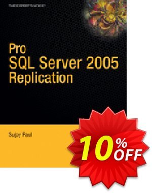 Pro SQL Server 2005 Replication (Paul) 優惠券,折扣碼 Pro SQL Server 2005 Replication (Paul) Deal,促銷代碼: Pro SQL Server 2005 Replication (Paul) Exclusive Easter Sale offer for iVoicesoft