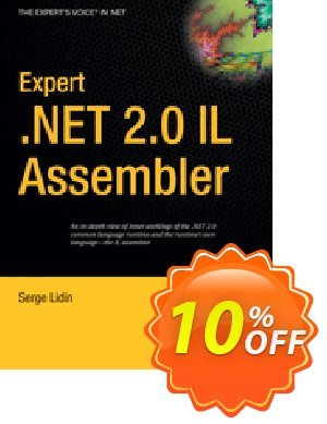 Expert .NET 2.0 IL Assembler (Lidin) discount coupon Expert .NET 2.0 IL Assembler (Lidin) Deal - Expert .NET 2.0 IL Assembler (Lidin) Exclusive Easter Sale offer for iVoicesoft
