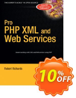 Pro PHP XML and Web Services (Richards) 優惠券,折扣碼 Pro PHP XML and Web Services (Richards) Deal,促銷代碼: Pro PHP XML and Web Services (Richards) Exclusive Easter Sale offer for iVoicesoft