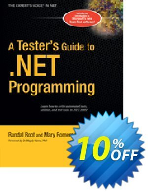 A Tester's Guide to .NET Programming (Sweeney) discount coupon A Tester's Guide to .NET Programming (Sweeney) Deal - A Tester's Guide to .NET Programming (Sweeney) Exclusive Easter Sale offer for iVoicesoft