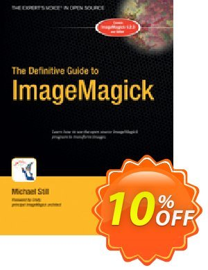 The Definitive Guide to ImageMagick (Still) Coupon, discount The Definitive Guide to ImageMagick (Still) Deal. Promotion: The Definitive Guide to ImageMagick (Still) Exclusive Easter Sale offer for iVoicesoft