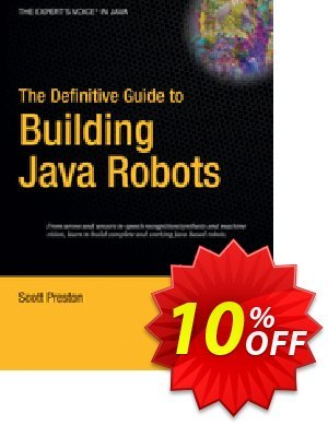 The Definitive Guide to Building Java Robots (Preston) 優惠券,折扣碼 The Definitive Guide to Building Java Robots (Preston) Deal,促銷代碼: The Definitive Guide to Building Java Robots (Preston) Exclusive Easter Sale offer for iVoicesoft