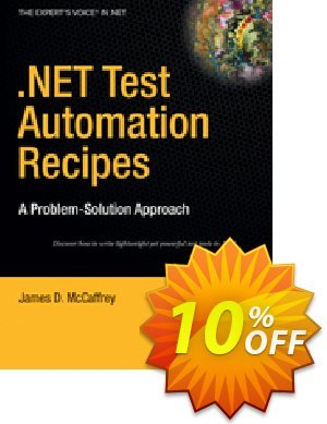 .NET Test Automation Recipes (McCaffrey) discount coupon .NET Test Automation Recipes (McCaffrey) Deal - .NET Test Automation Recipes (McCaffrey) Exclusive Easter Sale offer for iVoicesoft
