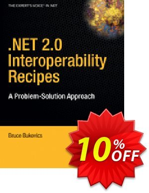 .NET 2.0 Interoperability Recipes (Bukovics) discount coupon .NET 2.0 Interoperability Recipes (Bukovics) Deal - .NET 2.0 Interoperability Recipes (Bukovics) Exclusive Easter Sale offer for iVoicesoft