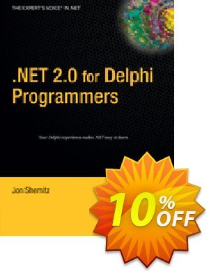 .NET 2.0 for Delphi Programmers (Shemitz) discount coupon .NET 2.0 for Delphi Programmers (Shemitz) Deal - .NET 2.0 for Delphi Programmers (Shemitz) Exclusive Easter Sale offer for iVoicesoft