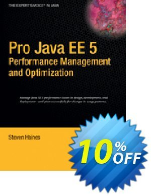 Pro Java EE 5 Performance Management and Optimization (Haines) discount coupon Pro Java EE 5 Performance Management and Optimization (Haines) Deal - Pro Java EE 5 Performance Management and Optimization (Haines) Exclusive Easter Sale offer for iVoicesoft