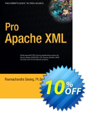Pro Apache XML (Sarang) discount coupon Pro Apache XML (Sarang) Deal - Pro Apache XML (Sarang) Exclusive Easter Sale offer for iVoicesoft