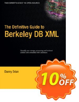 The Definitive Guide to Berkeley DB XML (Brian) discount coupon The Definitive Guide to Berkeley DB XML (Brian) Deal - The Definitive Guide to Berkeley DB XML (Brian) Exclusive Easter Sale offer for iVoicesoft
