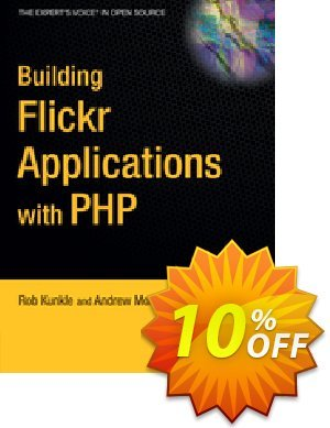Building Flickr Applications with PHP (Morton)割引コード・Building Flickr Applications with PHP (Morton) Deal キャンペーン:Building Flickr Applications with PHP (Morton) Exclusive Easter Sale offer for iVoicesoft