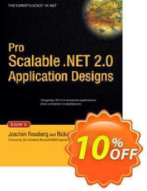 Pro Scalable .NET 2.0 Application Designs (Rossberg) discount coupon Pro Scalable .NET 2.0 Application Designs (Rossberg) Deal - Pro Scalable .NET 2.0 Application Designs (Rossberg) Exclusive Easter Sale offer for iVoicesoft