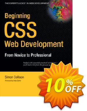 Beginning CSS Web Development (Collison) discount coupon Beginning CSS Web Development (Collison) Deal - Beginning CSS Web Development (Collison) Exclusive Easter Sale offer for iVoicesoft