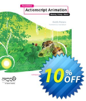 Foundation ActionScript Animation (Peters) discount coupon Foundation ActionScript Animation (Peters) Deal - Foundation ActionScript Animation (Peters) Exclusive Easter Sale offer for iVoicesoft
