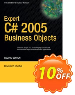 Expert C# 2005 Business Objects (Lhotka) discount coupon Expert C# 2005 Business Objects (Lhotka) Deal - Expert C# 2005 Business Objects (Lhotka) Exclusive Easter Sale offer for iVoicesoft