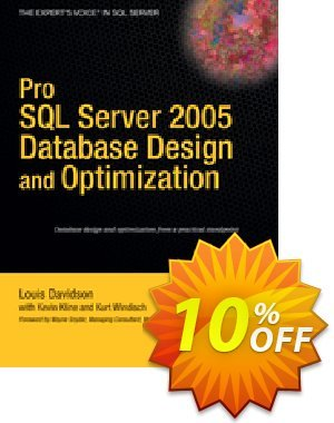 Pro SQL Server 2005 Database Design and Optimization (Windisch) discount coupon Pro SQL Server 2005 Database Design and Optimization (Windisch) Deal - Pro SQL Server 2005 Database Design and Optimization (Windisch) Exclusive Easter Sale offer for iVoicesoft
