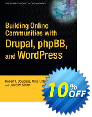 Building Online Communities with Drupal, phpBB, and WordPress (Douglass) 優惠券,折扣碼 Building Online Communities with Drupal, phpBB, and WordPress (Douglass) Deal,促銷代碼: Building Online Communities with Drupal, phpBB, and WordPress (Douglass) Exclusive Easter Sale offer for iVoicesoft