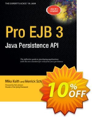 Pro EJB 3 (Keith) discount coupon Pro EJB 3 (Keith) Deal - Pro EJB 3 (Keith) Exclusive Easter Sale offer for iVoicesoft