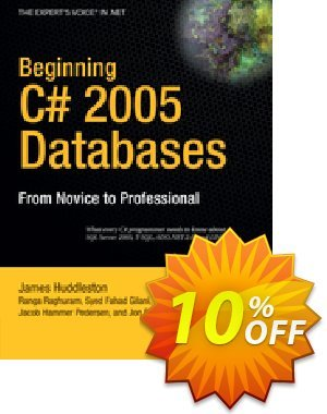 Beginning C# 2005 Databases (Hammer Pedersen) discount coupon Beginning C# 2005 Databases (Hammer Pedersen) Deal - Beginning C# 2005 Databases (Hammer Pedersen) Exclusive Easter Sale offer for iVoicesoft