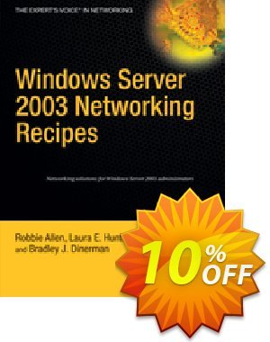 Windows Server 2003 Networking Recipes (Allen) discount coupon Windows Server 2003 Networking Recipes (Allen) Deal - Windows Server 2003 Networking Recipes (Allen) Exclusive Easter Sale offer for iVoicesoft