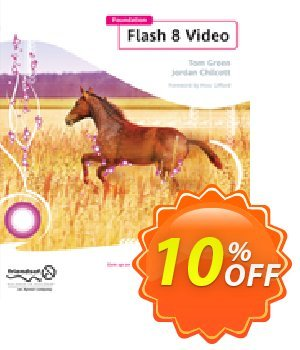 Foundation Flash 8 Video (Green) discount coupon Foundation Flash 8 Video (Green) Deal - Foundation Flash 8 Video (Green) Exclusive Easter Sale offer for iVoicesoft