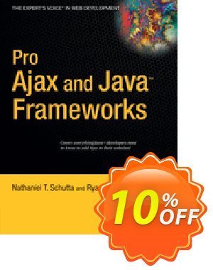 Pro Ajax and Java Frameworks (Schutta) discount coupon Pro Ajax and Java Frameworks (Schutta) Deal - Pro Ajax and Java Frameworks (Schutta) Exclusive Easter Sale offer for iVoicesoft