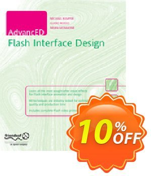 AdvancED Flash Interface Design (Rosso) 優惠券,折扣碼 AdvancED Flash Interface Design (Rosso) Deal,促銷代碼: AdvancED Flash Interface Design (Rosso) Exclusive Easter Sale offer for iVoicesoft