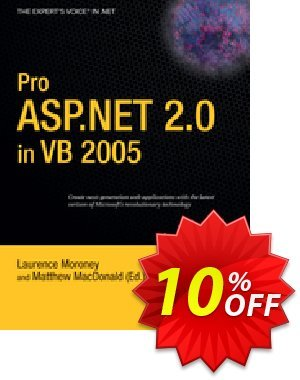Pro ASP.NET 2.0 in VB 2005 (Moroney) Coupon discount Pro ASP.NET 2.0 in VB 2005 (Moroney) Deal. Promotion: Pro ASP.NET 2.0 in VB 2005 (Moroney) Exclusive Easter Sale offer for iVoicesoft