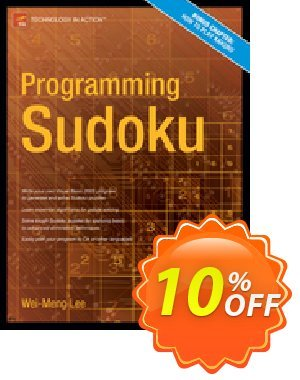Programming Sudoku (Lee) 프로모션 코드 Programming Sudoku (Lee) Deal 프로모션: Programming Sudoku (Lee) Exclusive Easter Sale offer for iVoicesoft
