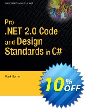 Pro .NET 2.0 Code and Design Standards in C# (Horner) discount coupon Pro .NET 2.0 Code and Design Standards in C# (Horner) Deal - Pro .NET 2.0 Code and Design Standards in C# (Horner) Exclusive Easter Sale offer for iVoicesoft