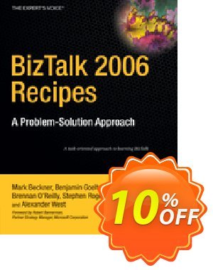 BizTalk 2006 Recipes (Beckner) 프로모션 코드 BizTalk 2006 Recipes (Beckner) Deal 프로모션: BizTalk 2006 Recipes (Beckner) Exclusive Easter Sale offer for iVoicesoft