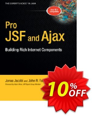 Pro JSF and Ajax (Jacobi) 優惠券,折扣碼 Pro JSF and Ajax (Jacobi) Deal,促銷代碼: Pro JSF and Ajax (Jacobi) Exclusive Easter Sale offer for iVoicesoft