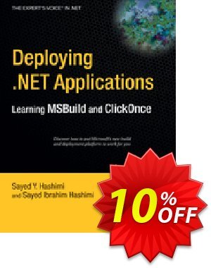 Deploying .NET Applications (Hashimi) discount coupon Deploying .NET Applications (Hashimi) Deal - Deploying .NET Applications (Hashimi) Exclusive Easter Sale offer for iVoicesoft