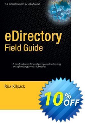 eDirectory Field Guide (Killpack) discount coupon eDirectory Field Guide (Killpack) Deal - eDirectory Field Guide (Killpack) Exclusive Easter Sale offer for iVoicesoft