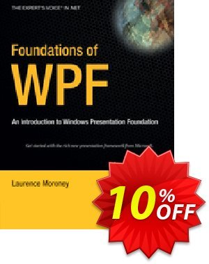 Foundations of WPF (Moroney) 優惠券,折扣碼 Foundations of WPF (Moroney) Deal,促銷代碼: Foundations of WPF (Moroney) Exclusive Easter Sale offer for iVoicesoft