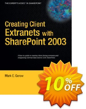 Creating Client Extranets with SharePoint 2003 (Gerow) discount coupon Creating Client Extranets with SharePoint 2003 (Gerow) Deal - Creating Client Extranets with SharePoint 2003 (Gerow) Exclusive Easter Sale offer for iVoicesoft