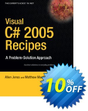 Visual C# 2005 Recipes (Rajan) discount coupon Visual C# 2005 Recipes (Rajan) Deal - Visual C# 2005 Recipes (Rajan) Exclusive Easter Sale offer for iVoicesoft