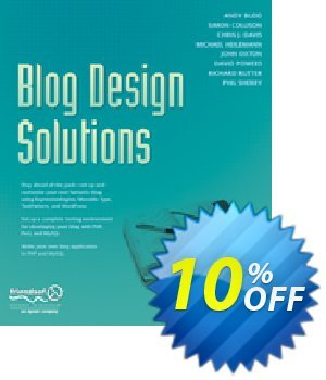 Blog Design Solutions (Rutter) discount coupon Blog Design Solutions (Rutter) Deal - Blog Design Solutions (Rutter) Exclusive Easter Sale offer for iVoicesoft