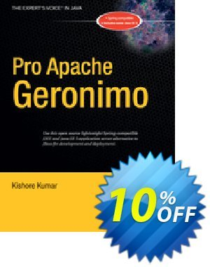 Pro Apache Geronimo (Kumar) discount coupon Pro Apache Geronimo (Kumar) Deal - Pro Apache Geronimo (Kumar) Exclusive Easter Sale offer for iVoicesoft