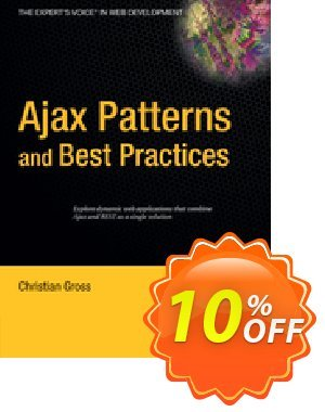 Ajax Patterns and Best Practices (Gross) 프로모션 코드 Ajax Patterns and Best Practices (Gross) Deal 프로모션: Ajax Patterns and Best Practices (Gross) Exclusive Easter Sale offer for iVoicesoft