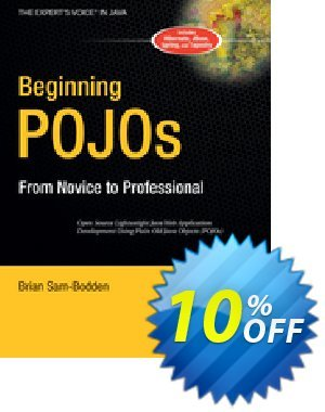 Beginning POJOs (Sam-Bodden) discount coupon Beginning POJOs (Sam-Bodden) Deal - Beginning POJOs (Sam-Bodden) Exclusive Easter Sale offer for iVoicesoft