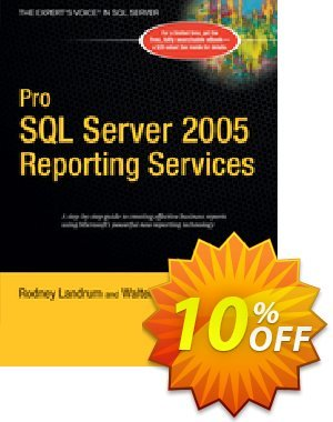 Pro SQL Server 2005 Reporting Services (Voytek) discount coupon Pro SQL Server 2005 Reporting Services (Voytek) Deal - Pro SQL Server 2005 Reporting Services (Voytek) Exclusive Easter Sale offer for iVoicesoft