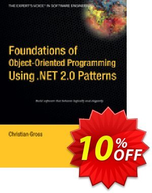 Foundations of Object-Oriented Programming Using .NET 2.0 Patterns (Gross) discount coupon Foundations of Object-Oriented Programming Using .NET 2.0 Patterns (Gross) Deal - Foundations of Object-Oriented Programming Using .NET 2.0 Patterns (Gross) Exclusive Easter Sale offer for iVoicesoft